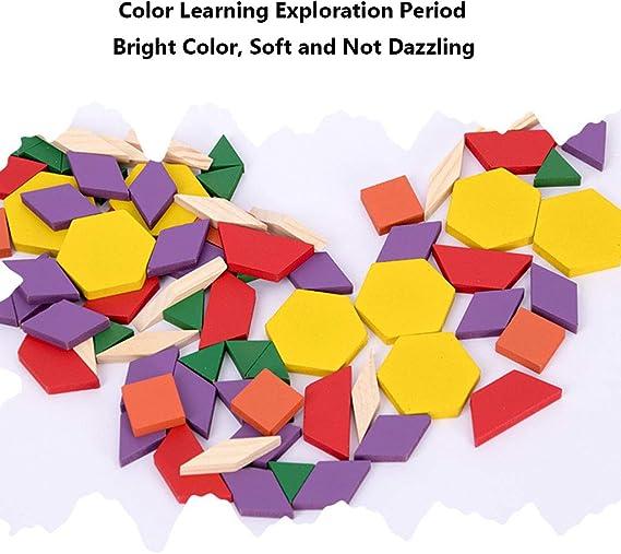 Caja de rompecabezas de madera de 250 piezas, rompecabezas creativo, rompecabezas divertido Montessori de educación temprana, juguetes educativos para niños de 2 a 6 años de edad,: Amazon.es: Hogar