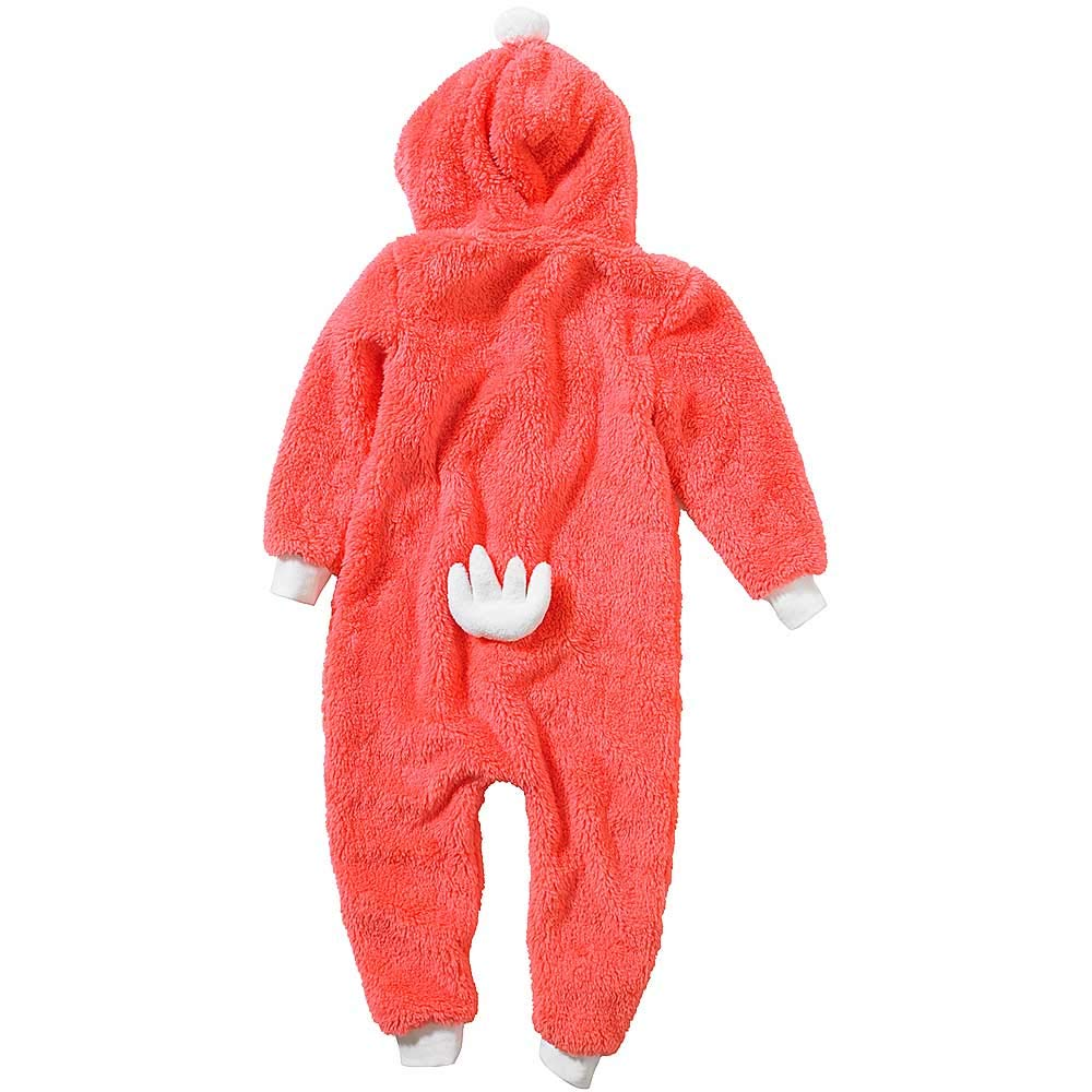 Onesies Animal Crazy Girls Flamingo Supersoft Fluffy Fleece Jumpsuit Playsuit