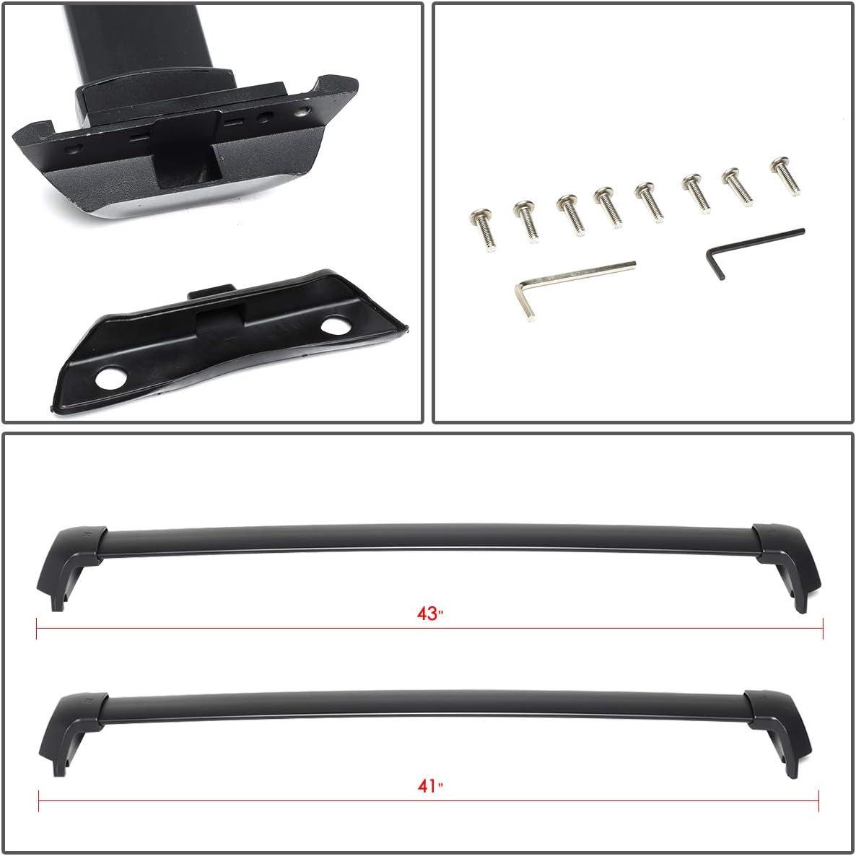 Pair OE Style Aluminum Roof Rack Rail Cross Bars Cargo Carrier for Honda CRV 17-19