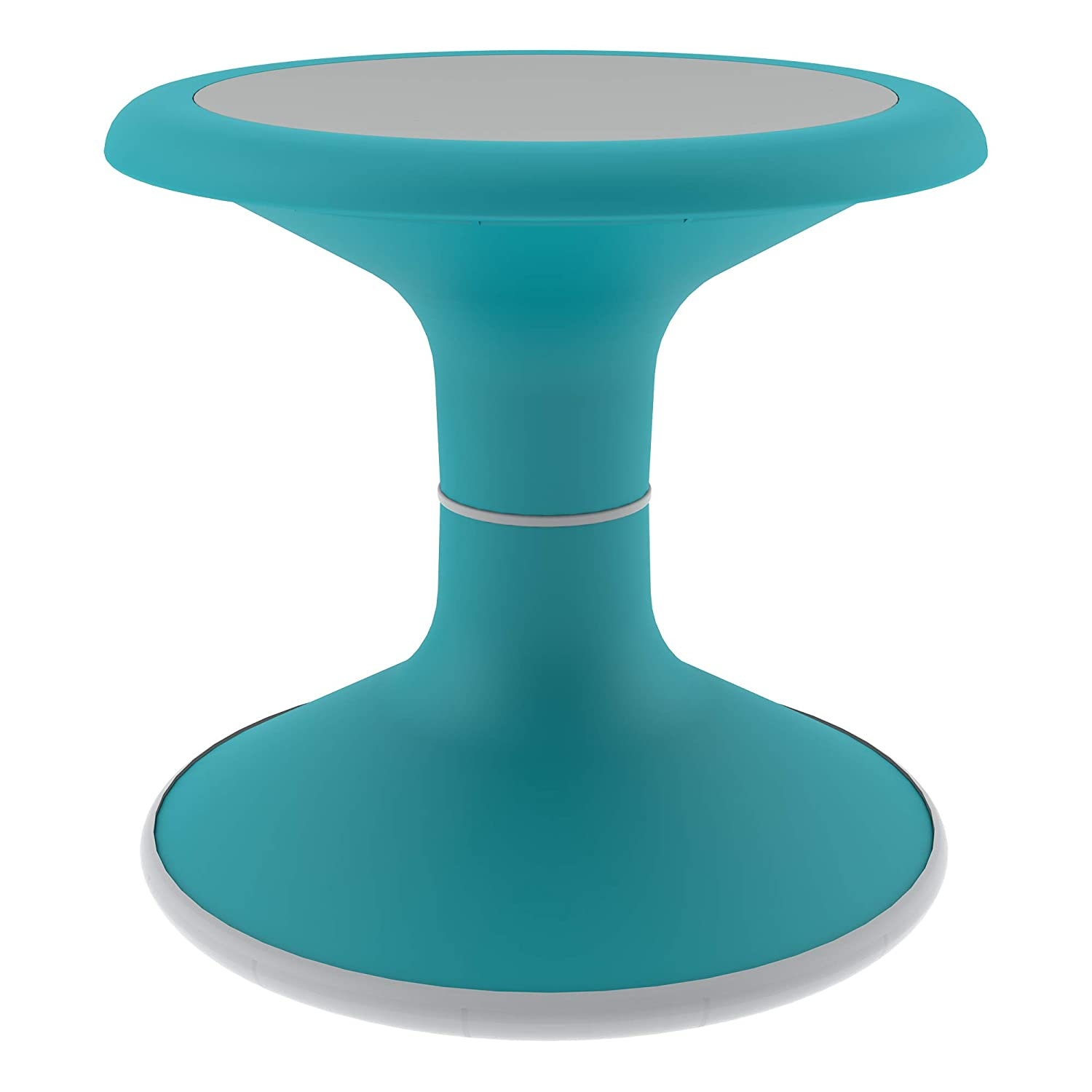"""Sprogs Kids Active Motion Stool - Flexible Seating for School Classroom, Office or Home - 12"""" Seat Height - Teal (SPG-NUS3000-TL-SO)"""