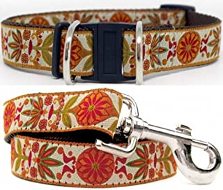 product image for Diva-Dog Venice Ivory' Dog Collar with Safety Buckle, Matching Leash Available – Teacup, XS/S, M/L, XL