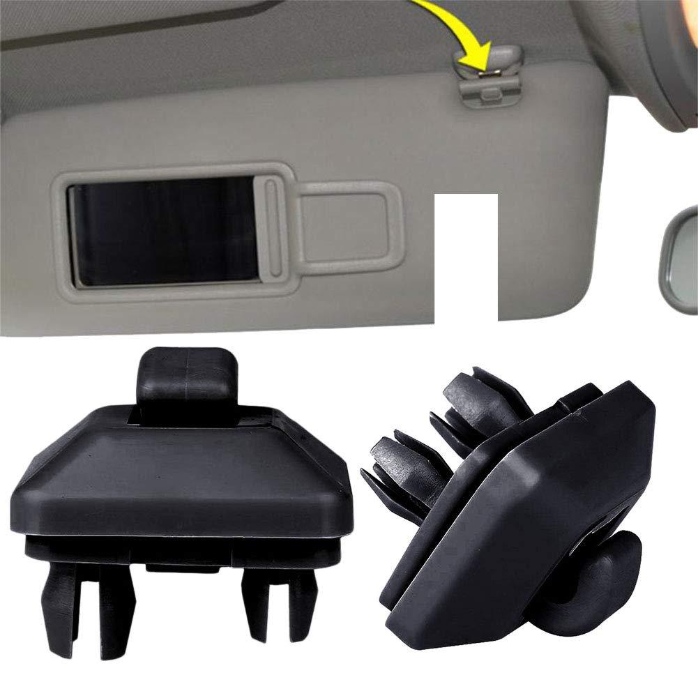 Leaftree Auto Sonnenblende Clip Haken Halter F/ür Audi A4 B6 B7 Q5 A7 Q7 Q3 A5