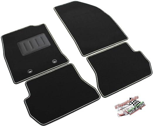 Tappeti moquette FIAT BRAVO dal 2007 Modello Originale con fix fissaggio
