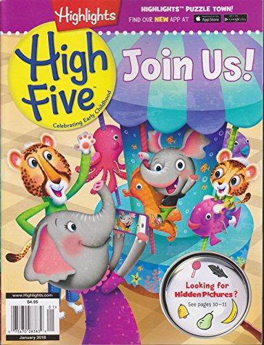 Highlights High Five Magazine January 2018