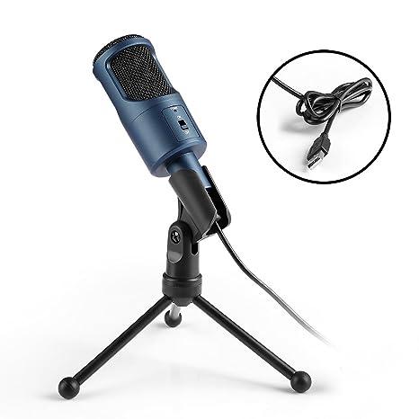 c0a404e73a255 Micrófono Condensador USB