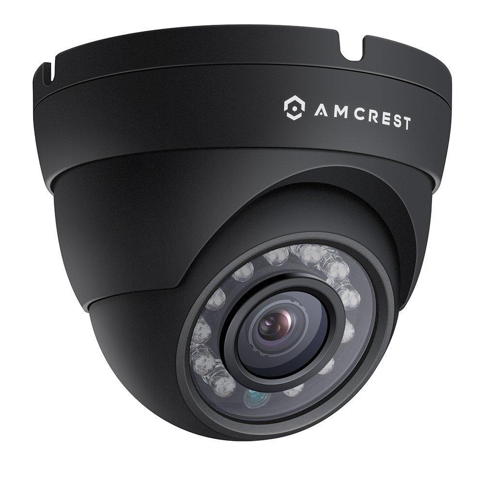 Amcrest 1080p HDCVI Standalone Dome Camera (Black) (DVR Not Included) [並行輸入品] B01HONQ7KM