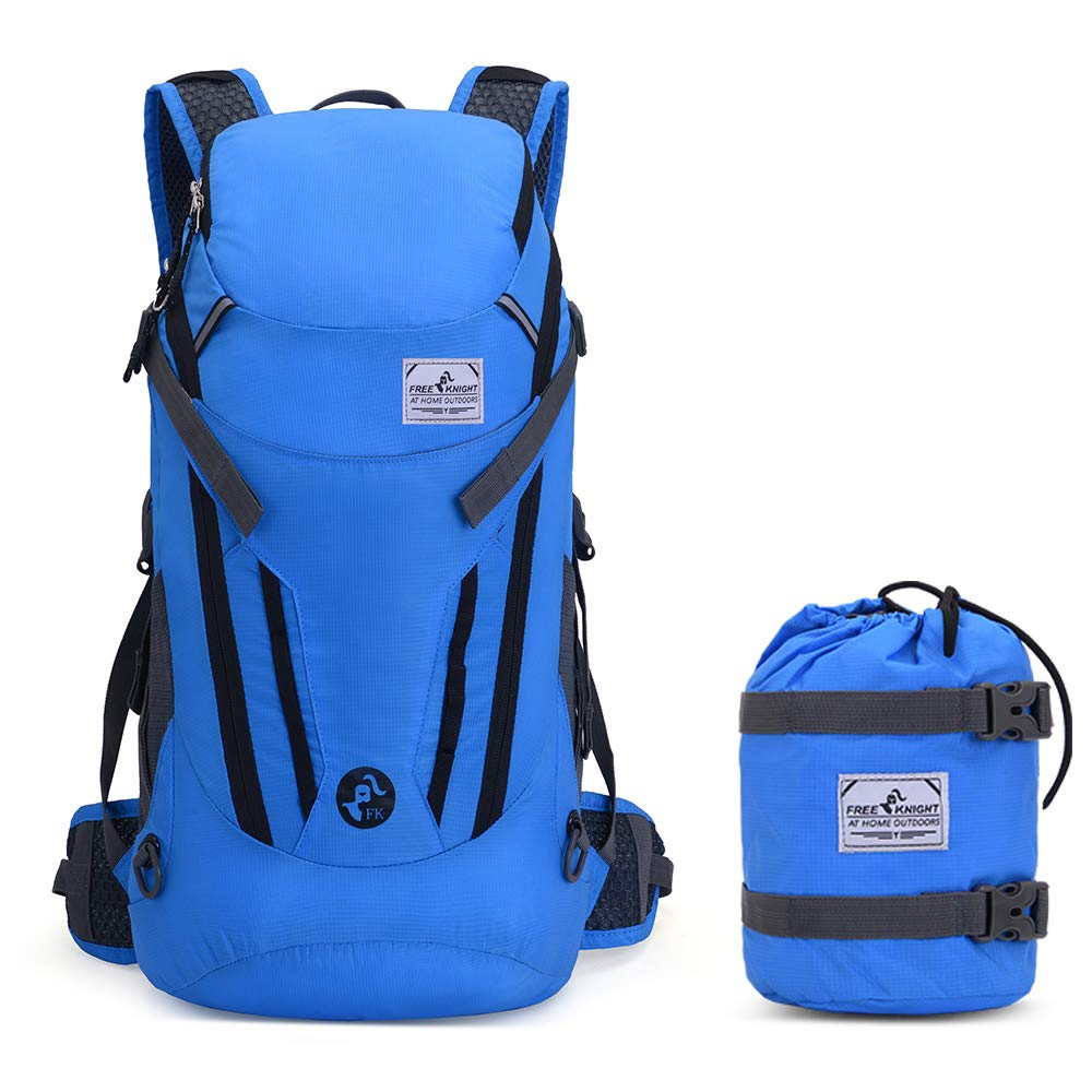 Ultra Lightweight Packable Hiking Backpack Large 30L,Waterproof Foldable Outdoor Daypack with Hydration