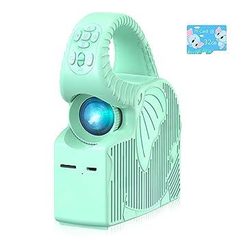 Proyector para Niños ROTEK, Mini Proyector LED Compatible con ...