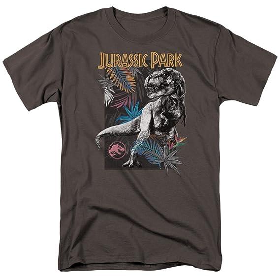 Jurassic Park T Shirt Feuillage Homme Amazon Fr Vetements Et