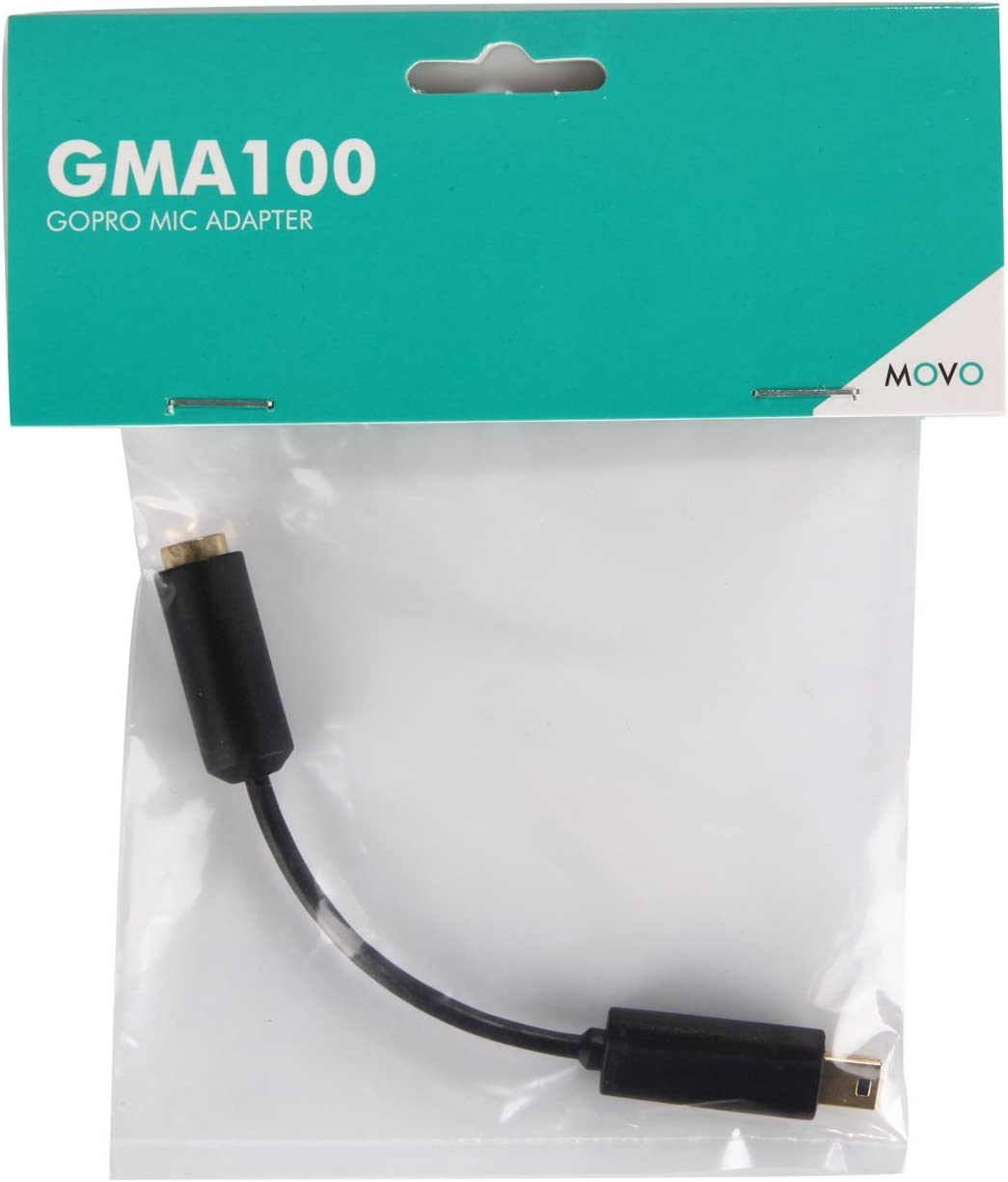 Camera JZ 3.5mm Mic Microphone Adapter Cable for GoPro Go Pro HD Hero 3 3