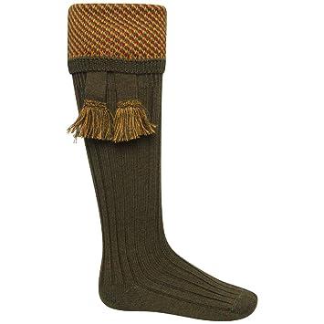House of Cheviot - Juego de calcetines largos, para caza, lana merina: Amazon.es: Deportes y aire libre
