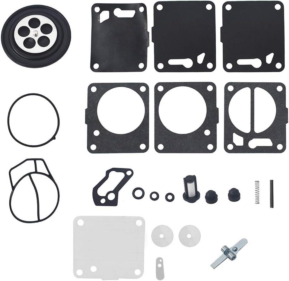 2pcs Carburetor Rebuild Kits Fit for Yamaha Polaris Seadoo 650 717 720 787 800 SP GS GTX HX XP SP Carb