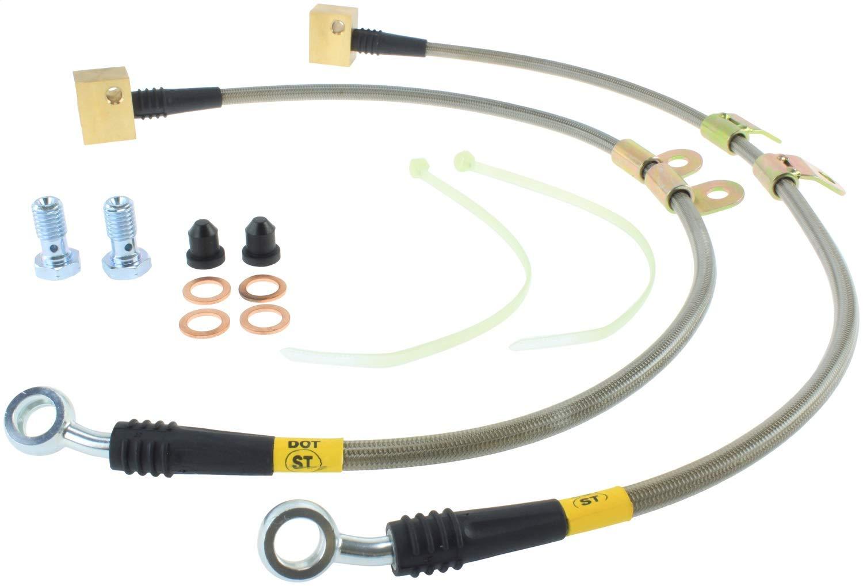 StopTech (950.62013) Brake Line Kit, Stainless Steel Power Slot