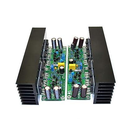 q-baihe 2pieces L15 de doble canal amplificador de potencia FET Junta con disipador de