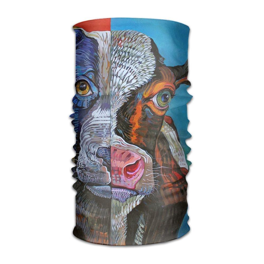 Headwear Pitbull Multifunctional Headbands Outdoor Magic Scarf As Sport Headwrap,Sweatband,Neck Gaiter,Tube Mask,Face Bandana