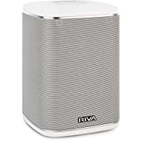Riva RWA01W Arena Compact Multi-Room Bluetooth Speaker - White RWA01W