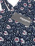 Zeagoo Women's Sexy V-Neck Spaghetti Strap Floral