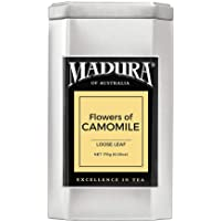 Madura Flowers of Camomile Loose Leaf Tea in Tea Caddy, 1 x 170 g