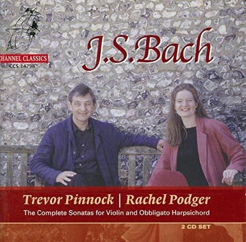 Complete Sonatas Harpsichord (Bach: Complete Sonatas for Violin and Obbligato Harpsichord)