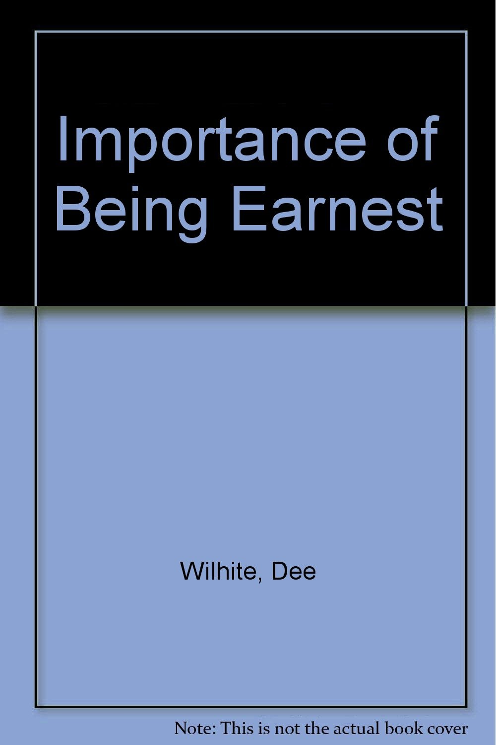 Read Online Importance of Being Earnest PDF