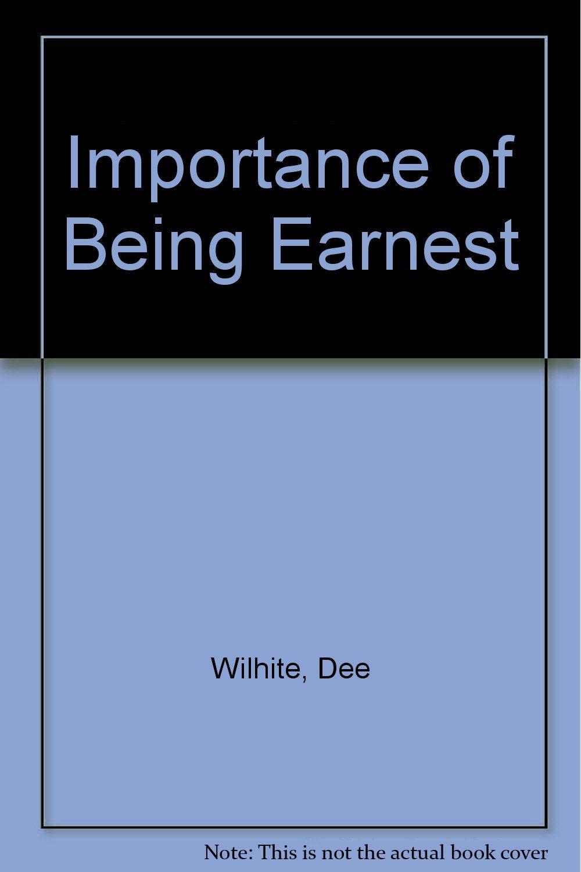 Importance of Being Earnest ebook