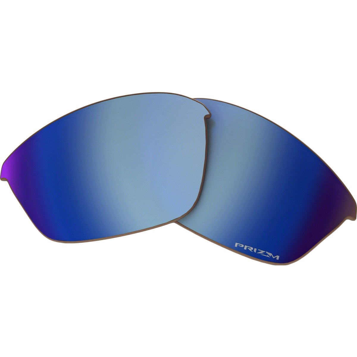 Oakley Half Jacket 2.0 Adult Replacement Lens Sunglass Accessories - Prizm Deep Water Polarized/One Size by Oakley