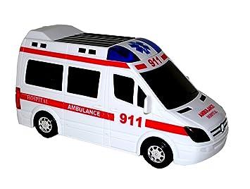 Emergency Van / Fahrzeug Ca 34cm - Neu Rettungsdienst Dickie 203716011