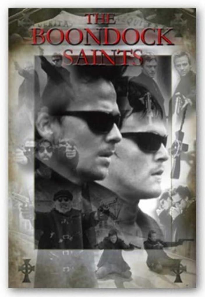 Scorpio The Boondock Saints Collage Poster Print