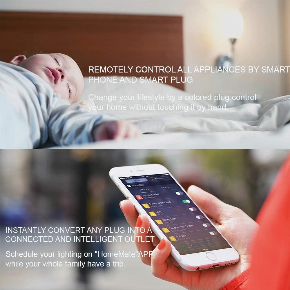 Beastron Zettaguard S31-Red Wi-Fi Smart Plug Outlet, funciona con ...