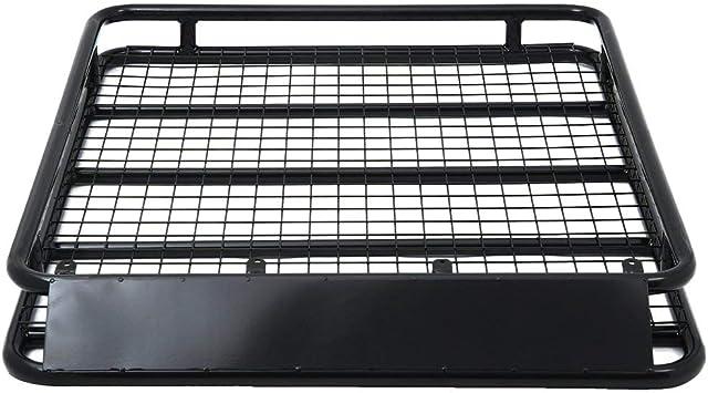 Dachgepäckträger Dachträger Dach Gepäckkorb Auto Universal Stahl 100kg Auto-2019