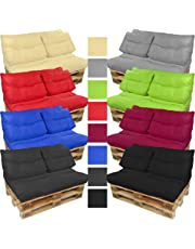 PROHEIM Cojines para palets Lounge - Cree un Elegante sofá Acolchado en Palet - Repelentes al
