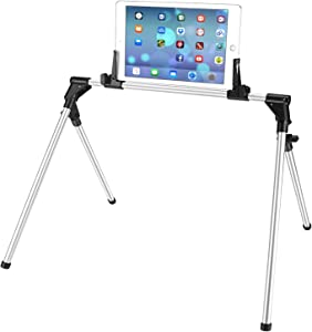 ieGeek Tablet Stand for Bed Sofa Desk, Adjustable and Foldable Holder Fit for iPad iPhone Cellphone Tablet Kindle in Bedroom Kitchen Floor