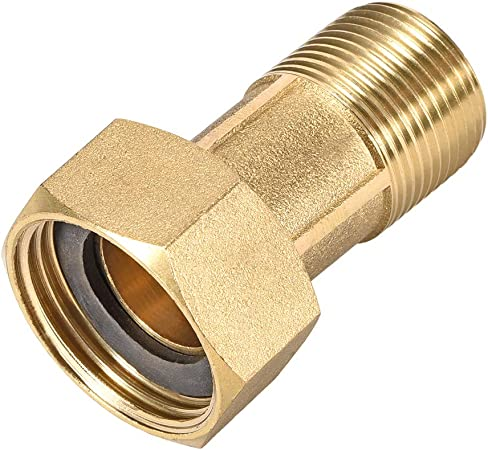 3//4 BSP HEX FULLY THREADED STUD CONNECTOR COUPLER JOINING CONNECTING THREAD NUT