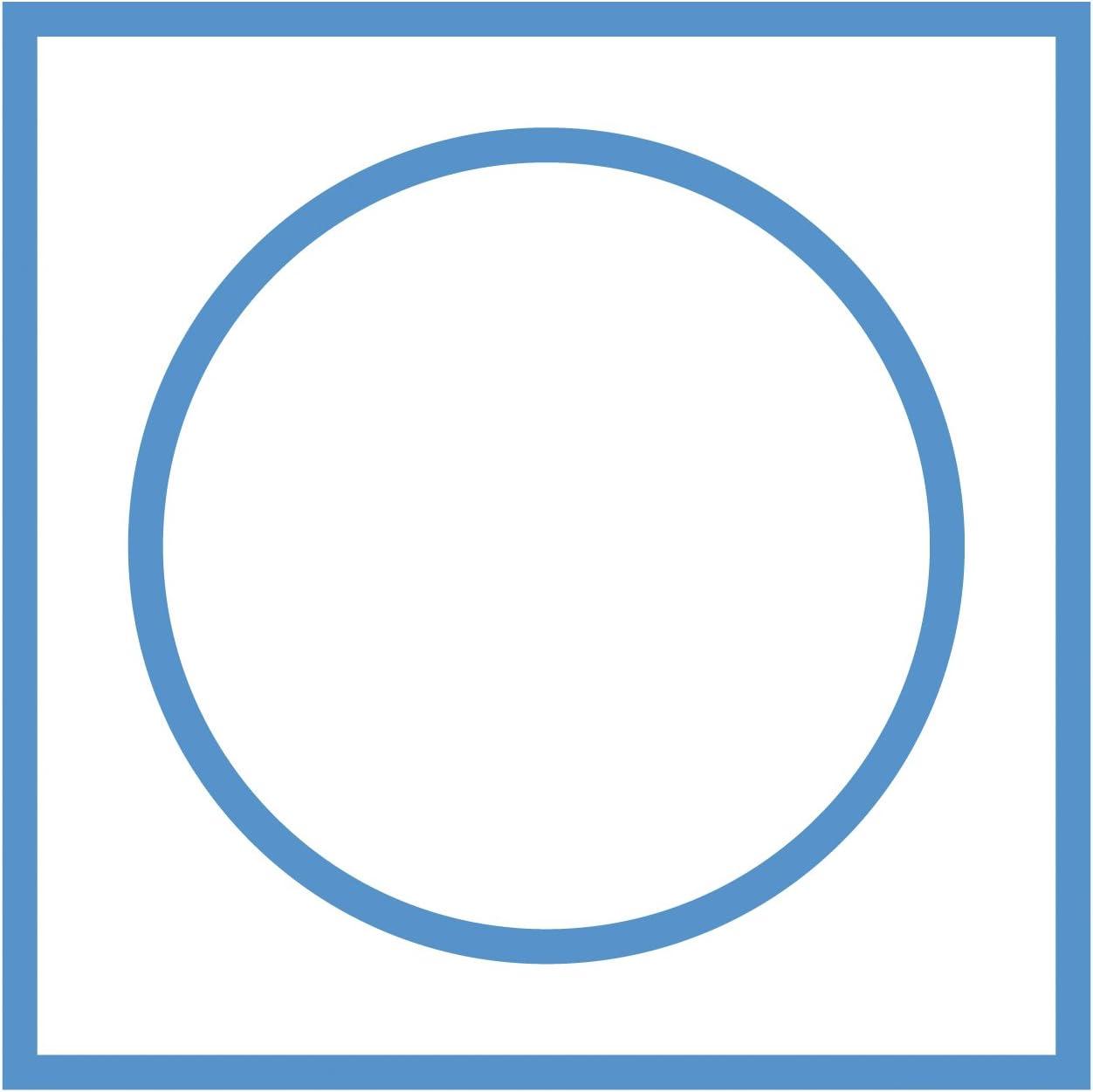 Hawaii dunkelblau RIDDER 7503330-350 Teppich 60 x 100 cm Polyacryl