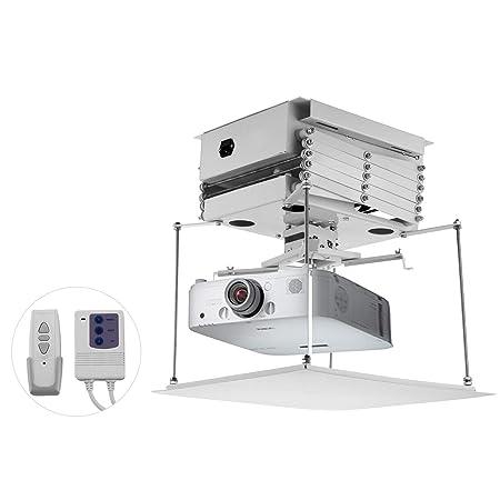 Techlifer - Elevador para proyector eléctrico, Soporte Universal ...