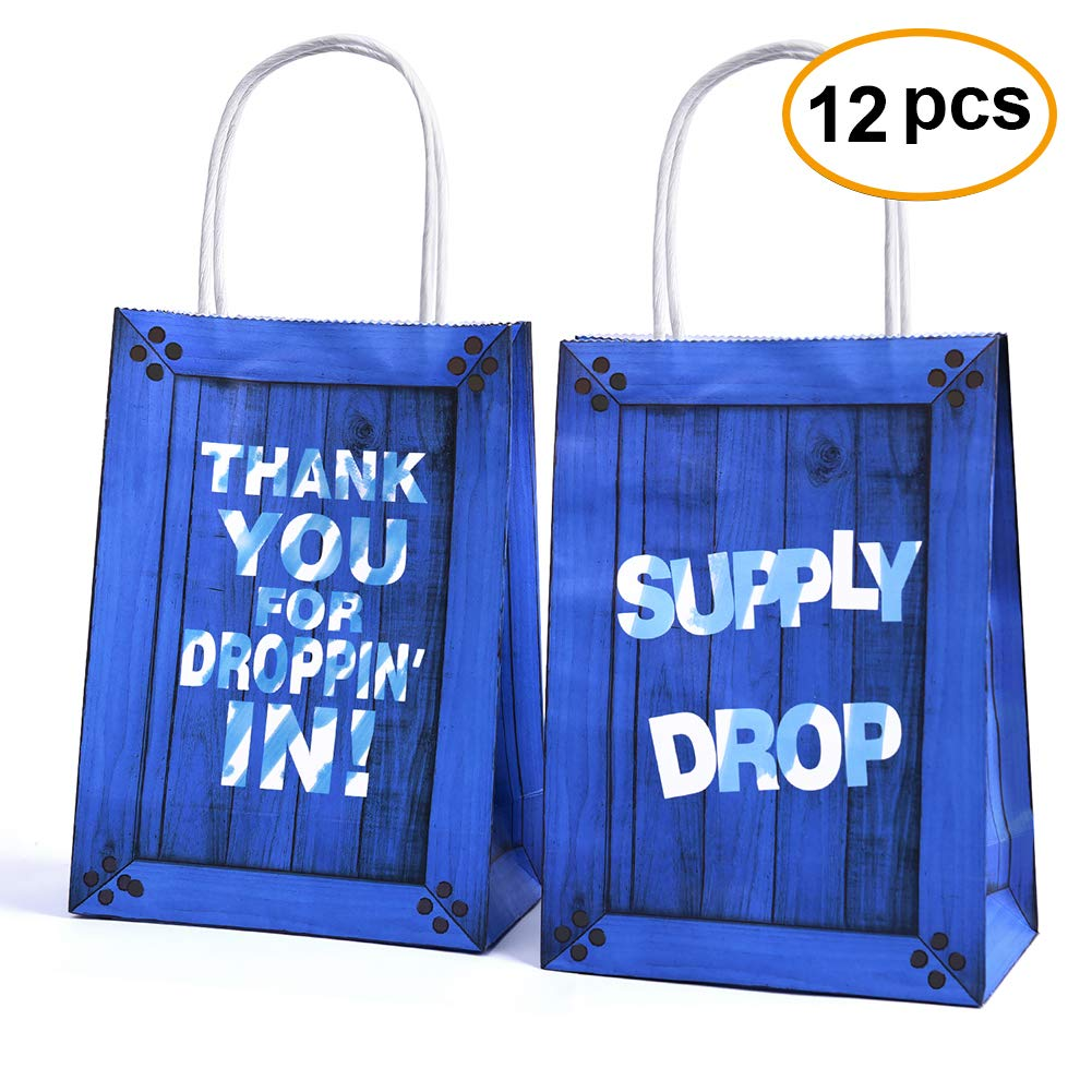 Amazon.com  Game Party Bags Goody Favor Bags Game Drop For Kids Adults  Birthday Party Themed Party Supplies Favors-12 Pack  Toys   Games 233b347d38b5f