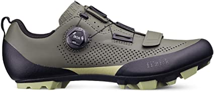 Carbon Fiber Fizik X5 Terra Mountain Bike Shoe Microtex MTB Shoe Adaptive Fit