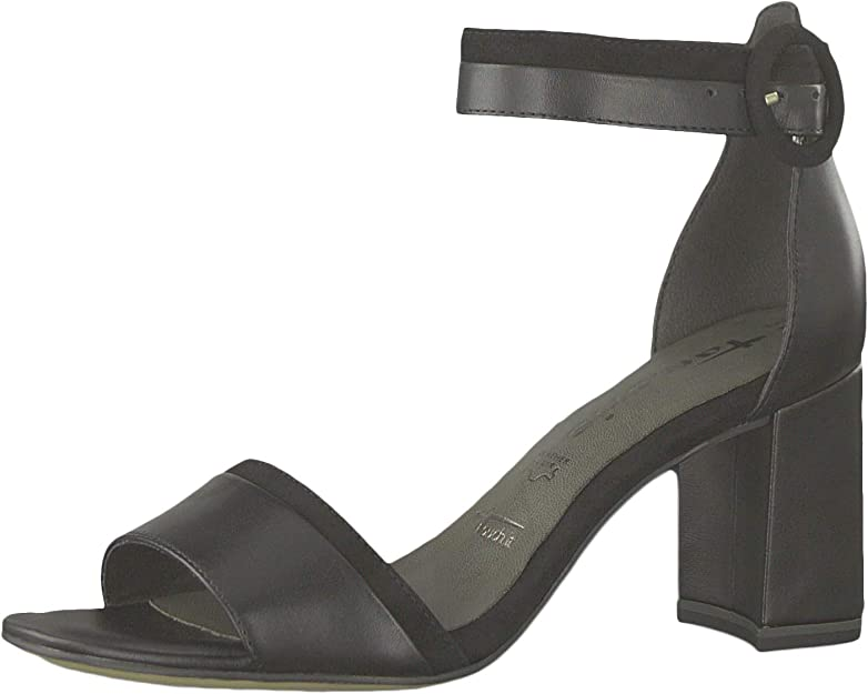 Tamaris Women's Fashion Sandals Black Black Uni Black Size