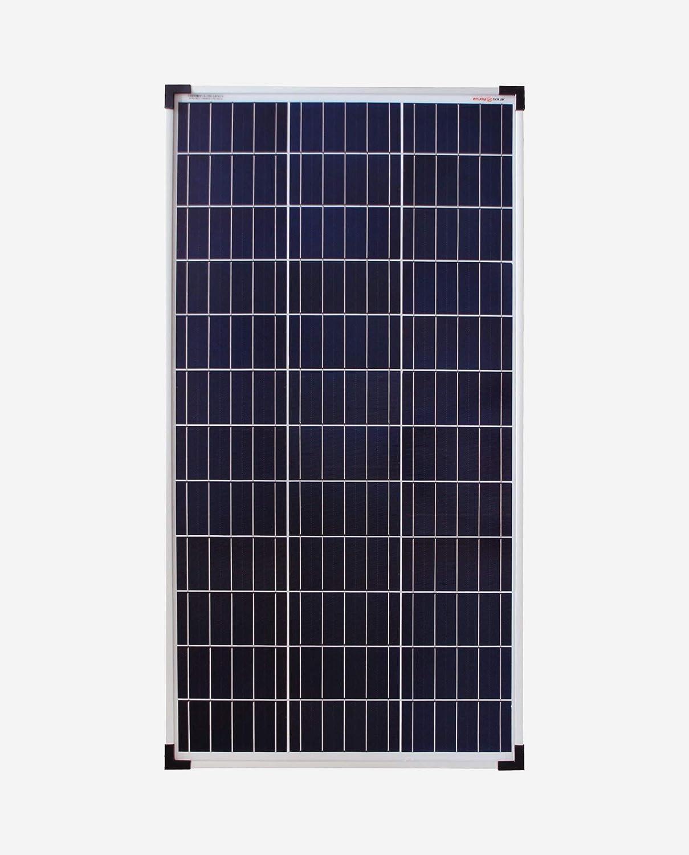 Panel solar de policristalino de enjoysolar®, 12 V, módulo solar de policristalino (80 W)