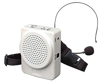 Bm 536 White Portable Speaker Voice Amplifier for: Amazon co uk