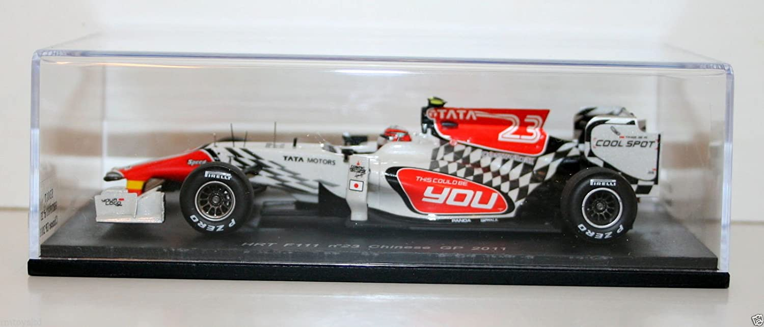 SPARK 1/43 HRT F111 No23 Chinese GP 2011 V.Liuzzi (japan import) International trade S3017