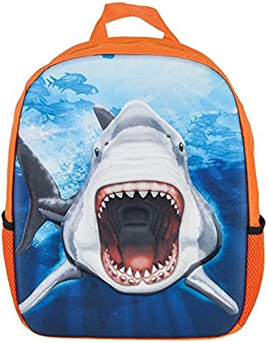 RINCO Great White Shark Eva Molded 3D Backpack