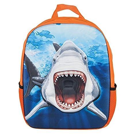 Great White Shark Eva Molded 3D Backpack