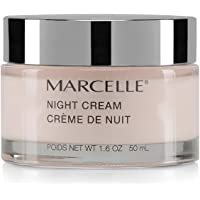 Marcelle Night Cream, Hypoallergenic and Fragrance-Free, 50 mL