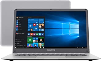 "Notebook Positivo Motion Q232A, Intel Atom Quad Core Z8350, 2GB RAM, SSD 32GB,  tela 14"" LCD, Windows 10, 3001184"