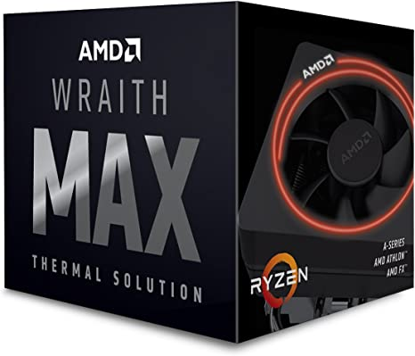 Amazon Com Amd 199 999575 Wraith Max Cooler With Rgb Led Computers Accessories