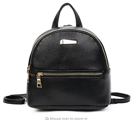 Image Unavailable. Image not available for. Color  Bingirl New Style Women s  Leather Backpack Children ... c7fdc15abd