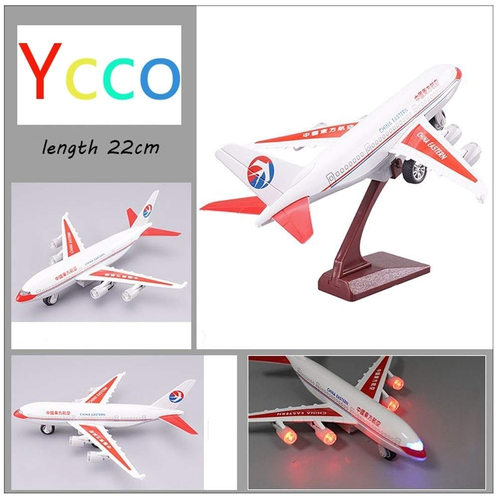Ycco Foam Throwing Glider Airplane, GreatestPAK Hand Launch Inertia Plane Model Toy Gift for Children Home Decoration Collection Drone for Kids Beginners to Play Indoor-Red by Ycco (Image #6)