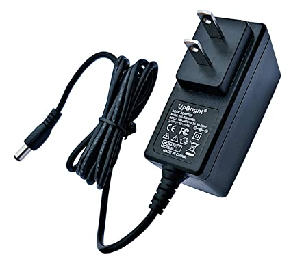 UpBright AC to 9V DC Adapter 120V to 9VDC 100mA - 1000mA 5 5mm x 2 1mm Tip  Center Positive + - Universal Class 2 Transformer Work with Bench Scales