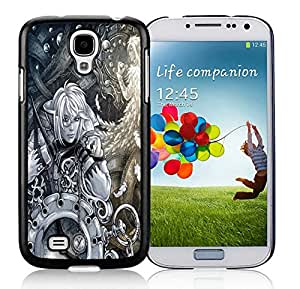 Nice Designed Phone Case With Time Travel Cover Case For Samsung Galaxy S4 I9500 i337 M919 i545 r970 l720 Black Phone Case CR-638